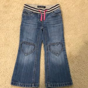 Mini Boden Heart Jeans (5yrs)